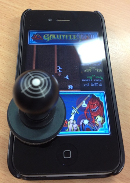 Joystick-It on iPhone