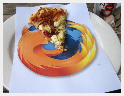 Firefox Pizza