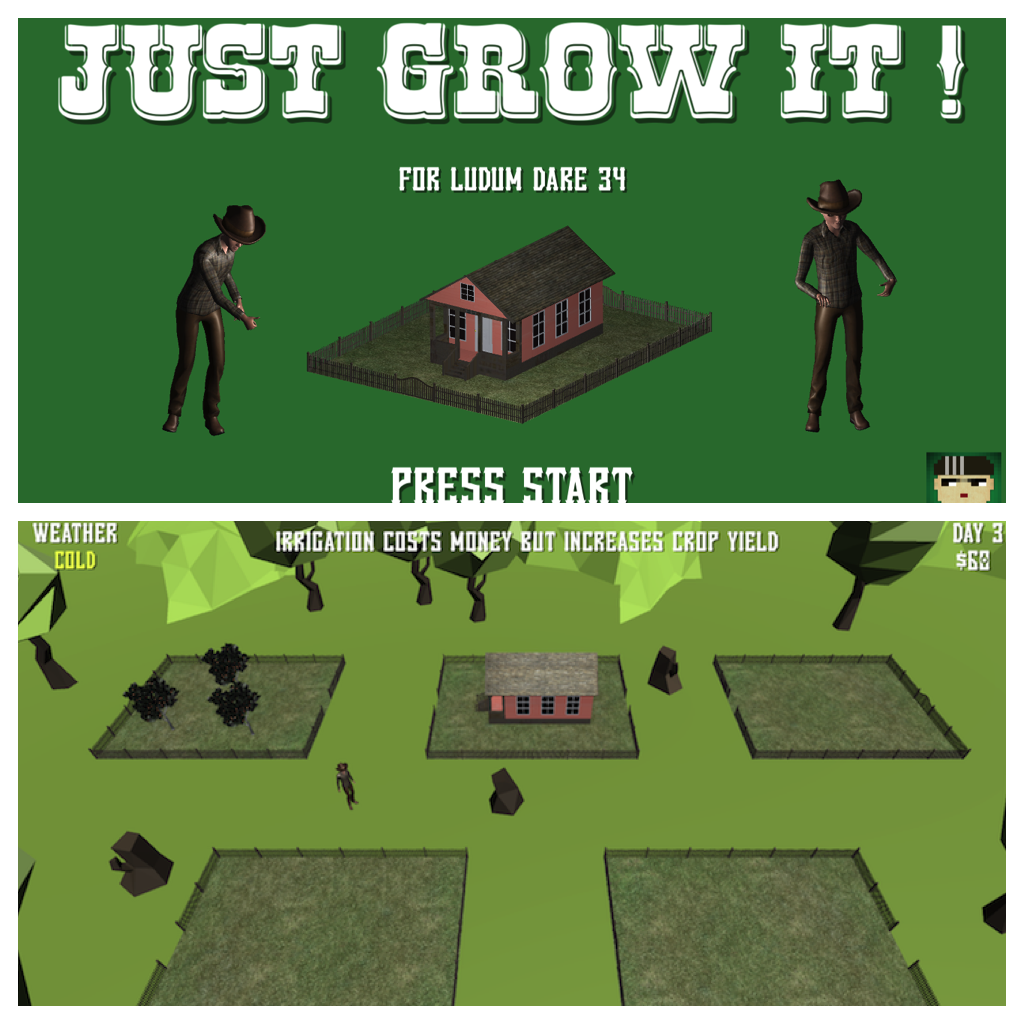 Just Grow It ! | Ludum Dare 34
