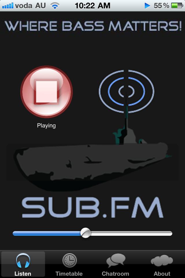 Sub FM iPhone iPhone App